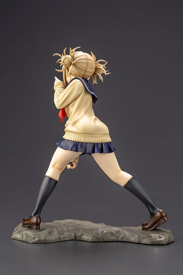 My Hero Academia Himiko Toga Is Deadly in Her New Kotobukiya Statue