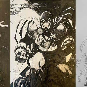 Jim Lee's DC Comics Sketches for BINC