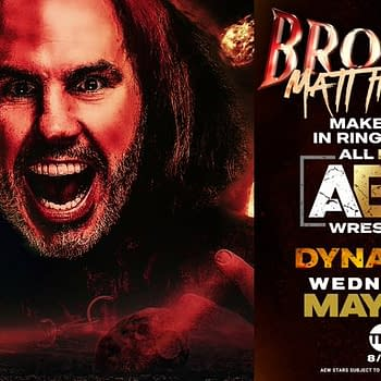 Matt Hardy makes his in-ring debut on AEW Dynamite tonight.