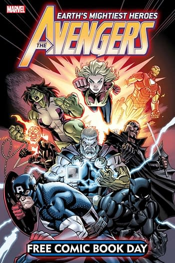 Marvel Avengers' Free Comic Book Day Preview
