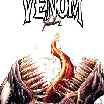 Venom #3 cover by Ryan Stegman, JP Mayer, and Frank Martin