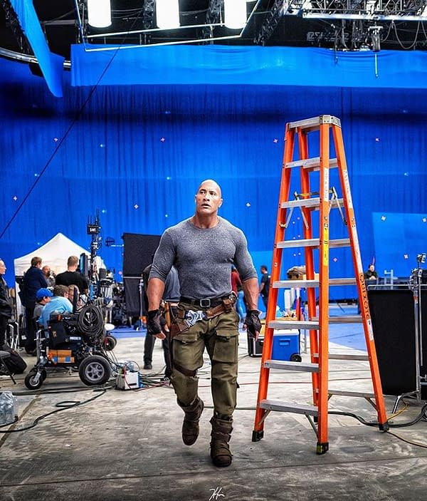 Untitled Jumanji: Welcome to the Jungle Sequel Wraps in Atlanta, Dwayne Johnson Shares New BTS Images