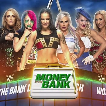 Welcome to the Women's Money in the Bank Ladder Match, courtesy of WWE.