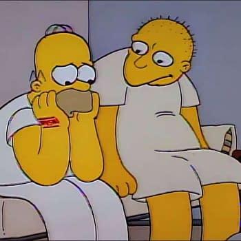 Simpsons - Star Raving Dad - Homer - Michael Jackson
