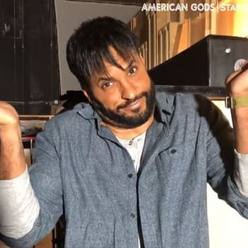 Ricky Whittle from American Gods (Image: STARZ)