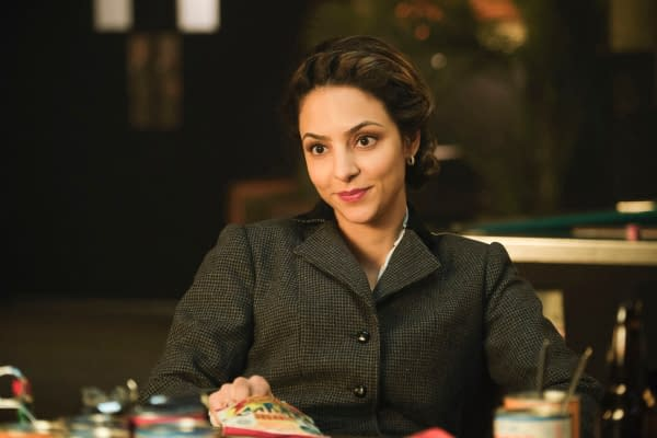 Tala Ashe as Zari -- Photo: Jeff Weddell/The CW -- © 2020 The CW Network, LLC. All Rights Reserved.