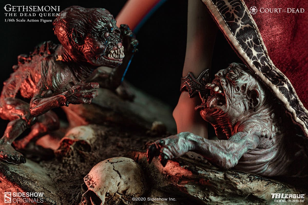 Court of the Dead's Gethsemoni Comes To Life with Phicen