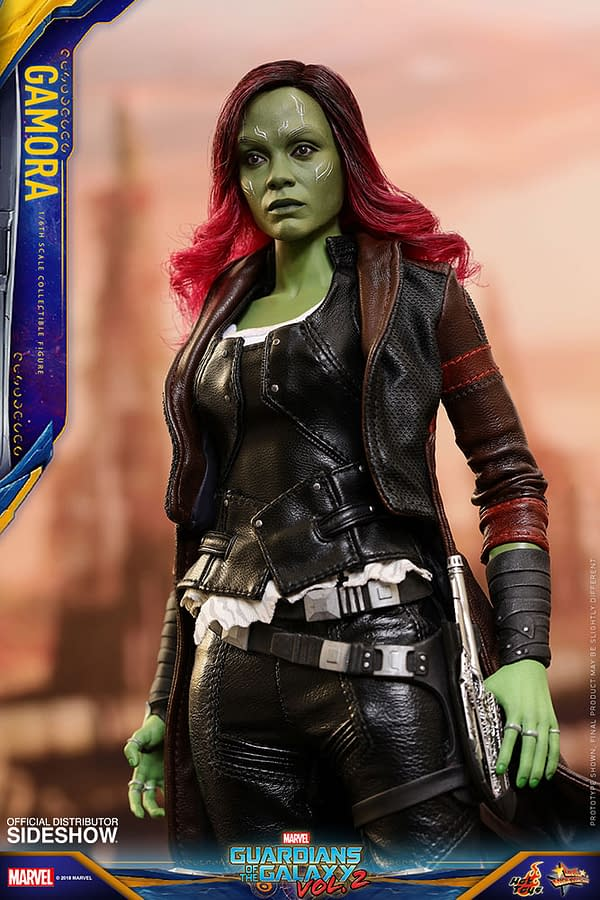 Hot Toys Guardians Vol. 2 Gamora 10