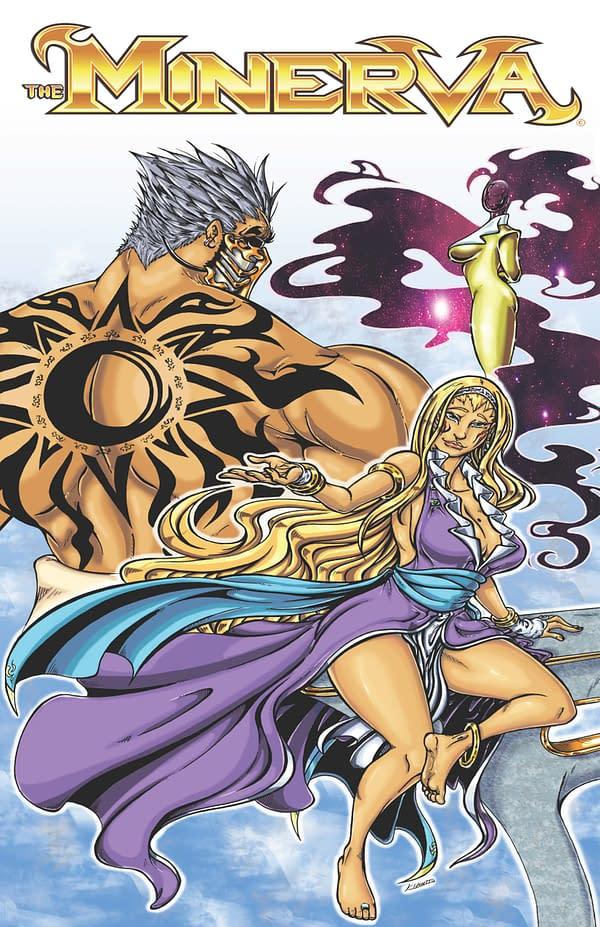 The Minerva Vol 1 Cover