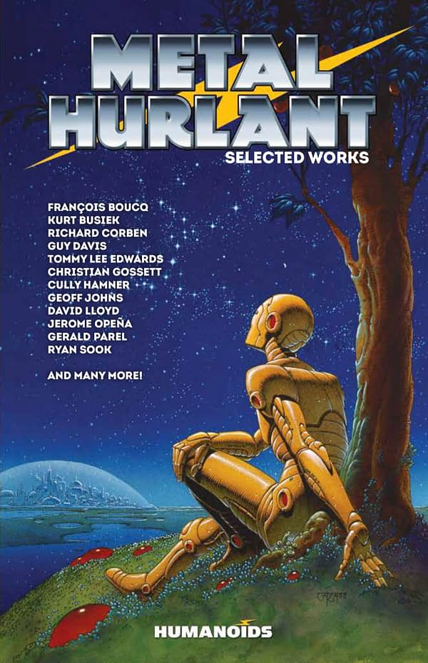The cover Metal Hurlant: Selected Works from Humanoids.