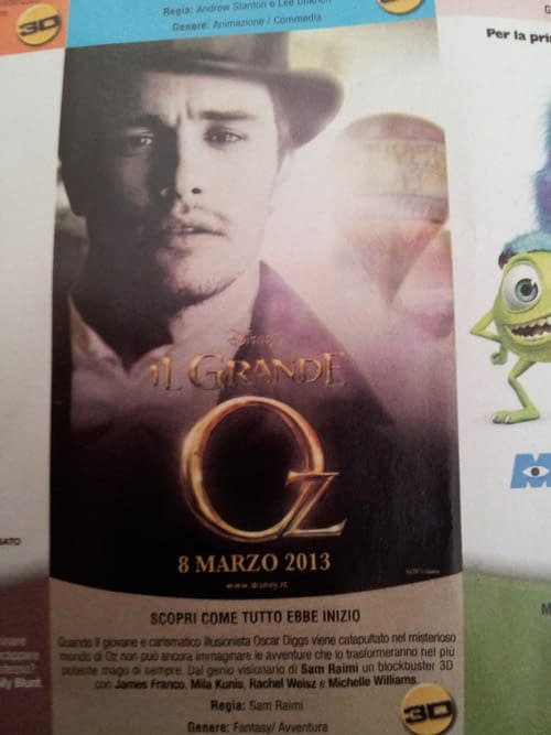 First Look At Sam Raimi's Oz The Great And Powerful