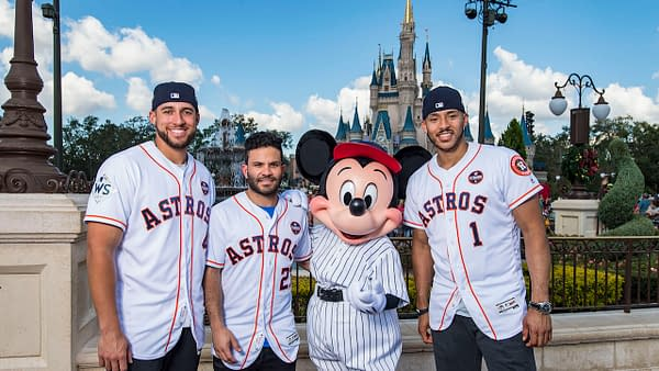 Houston Astros World Series Celebration at Walt Disney World