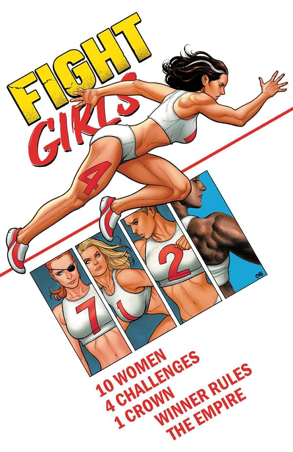 Check Out More Artwork From Frank Cho's Fight Girls