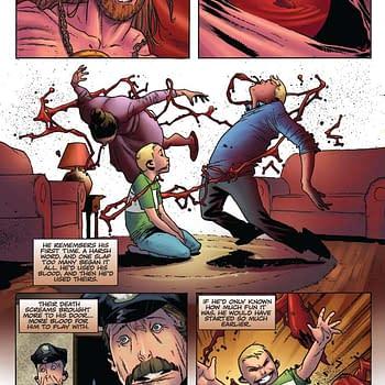 Thomas E. Sniegoski's Writer's Commentary on Vengeance of Vampirella #5