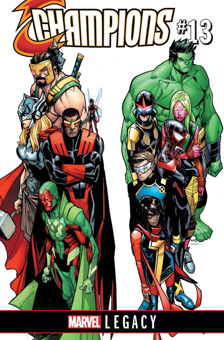 Avengers And Champions Worlds Collide In The Second Crossover Of Marvel Legacy
