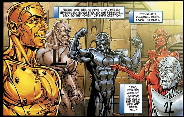 Dan DiDio Reveals How Everything We Knew About the Metal Men Was Wrong (Spoilers)