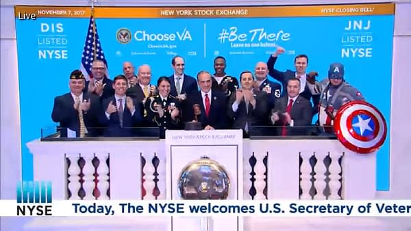 Ike Perlmutter Got Captain America to Go to New York Stock Exchange.