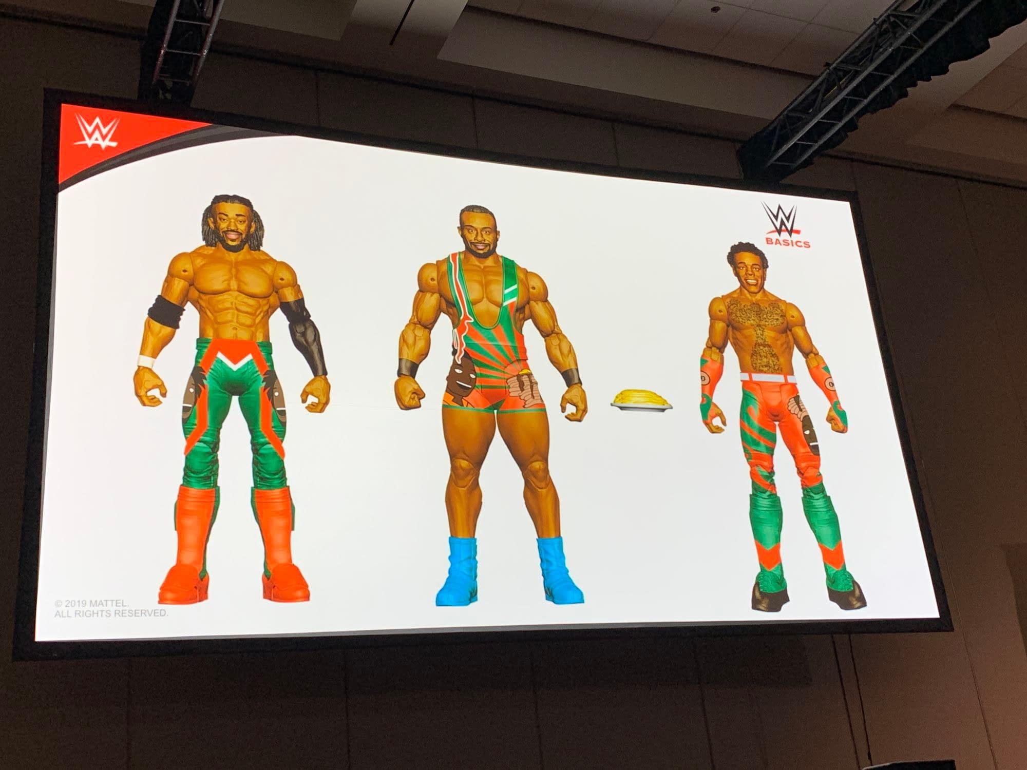 WWE Thrills at Mattel Panel, Reveals New Ghostbusters MOTU Crossovers