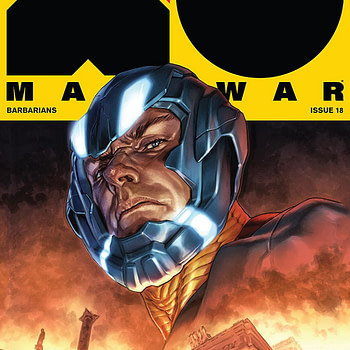 X-O Manowar #18 cover by Lewis Larosa and Diego Rodriguez