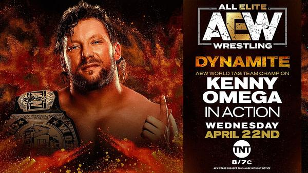 Kenny Omega sera en action sur AEW Dynamite la semaine prochaine.