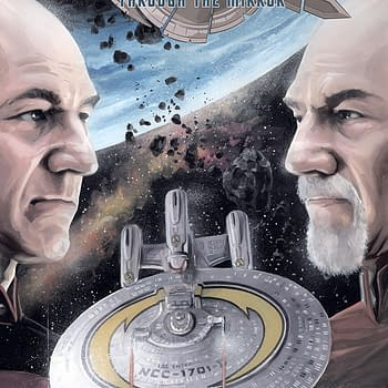 Star Trek the Next Generation Through the Mirror #1 Review: The Minutia of Federation Supplies