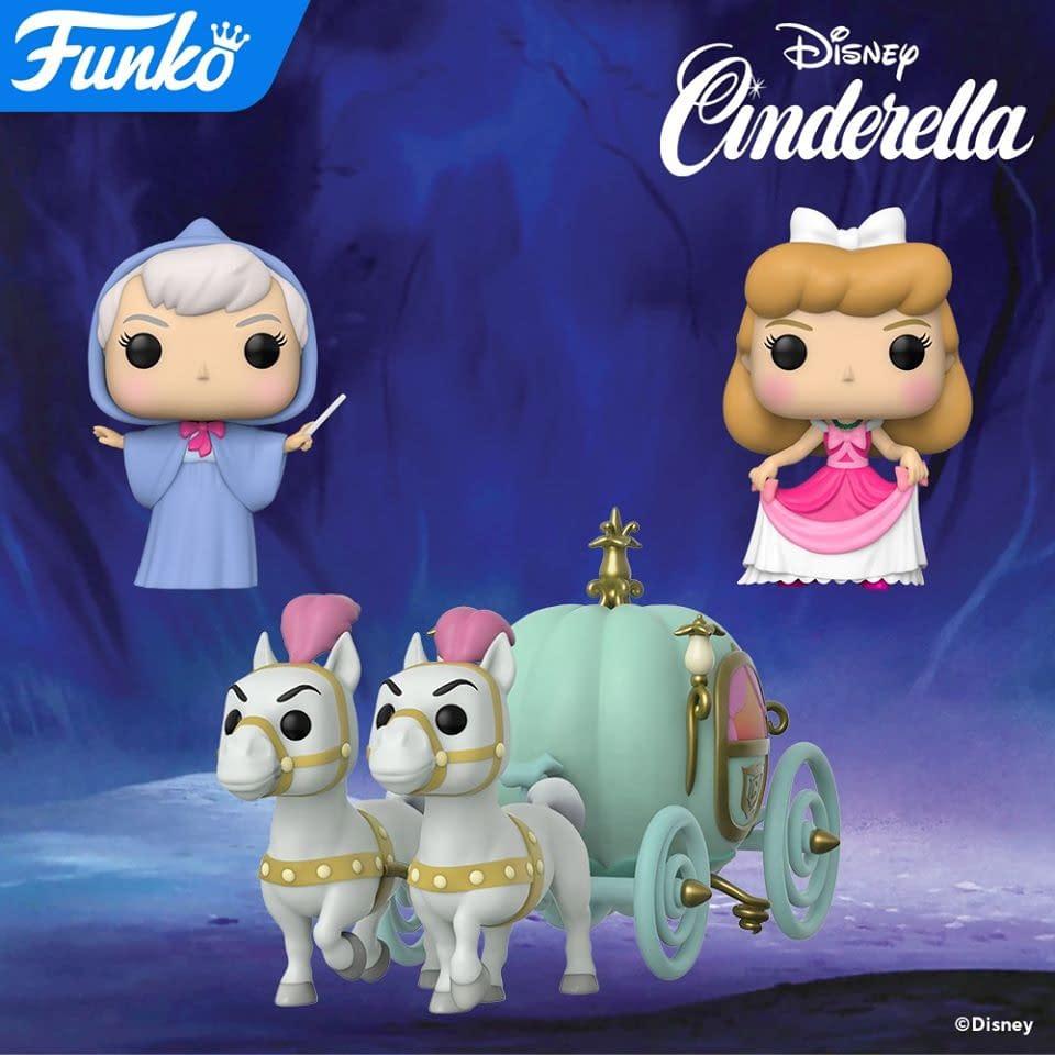 Cinderella Prepares for the Kingdom's Ball with New Funko Pops