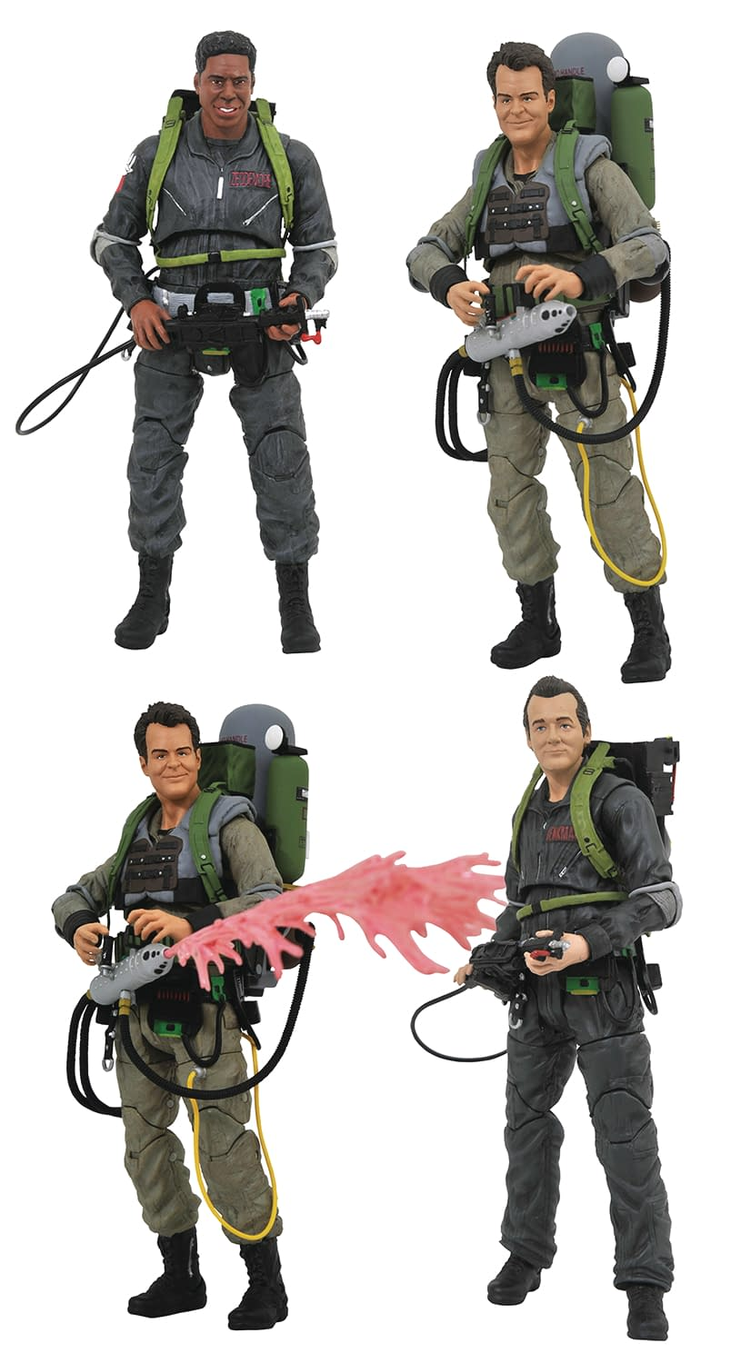 Diamond Select Toys in August: Arrow, Ghostbusters, Pacific Rim, and More