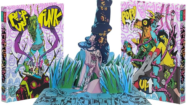 Jim Mahfood's Visual Funk Explodes in Three Dimensions in New Kickstarter Book