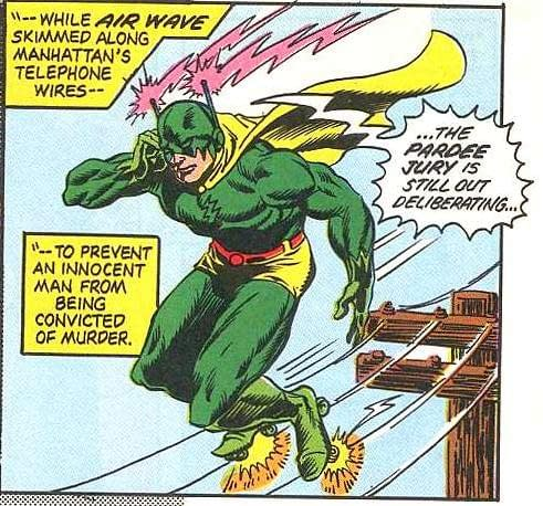 Today's Green Lantern Annual Brings Back Airwave - and Sonic The Hedgehog - to DC Comics Continuity