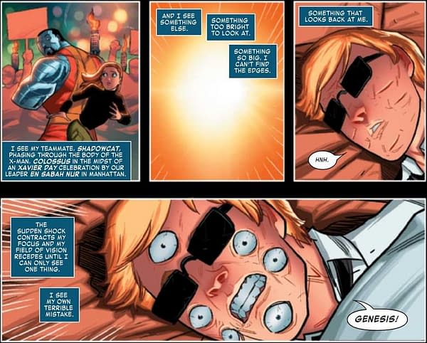 The Don't Make Captain America Shields Like They Apocalypse and the X-Tracts #4 Preview
