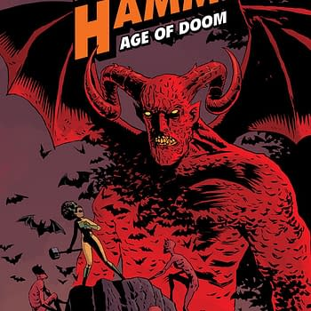 Black Hammer: Age of Doom #2 cover by Dean Ormston and Dave Stewart