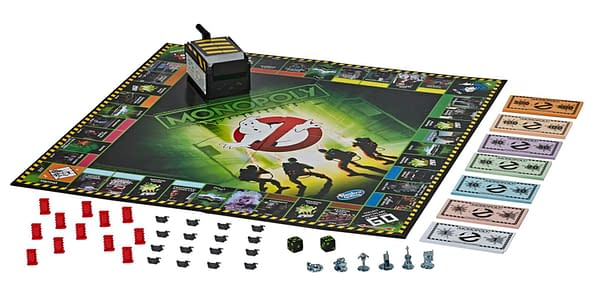 A better look at the Monopoly Ghostbusters gameboard, courtesy of Hasbro.