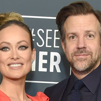 Olivia Wilde and Jason Sudeikis arrives for the 25th Annual Critics' Choice Awards on January 12, 2020 in Santa Monica, CA. Editorial credit: DFree / Shutterstock.com