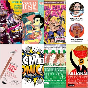 Things to Do in London If You Like Comics, October 2019