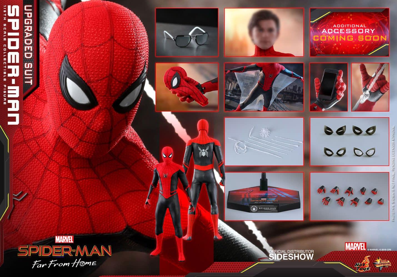 Hot Toys Unveils Their Newest Spider-Man Unmasked Head