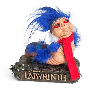 Ello Worm statue labyrinth