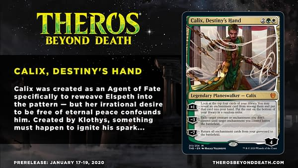 """""""Calix, Destiny's Hand"""" Spoiled, Sparking Debate - """"Magic: The Gathering"""""""