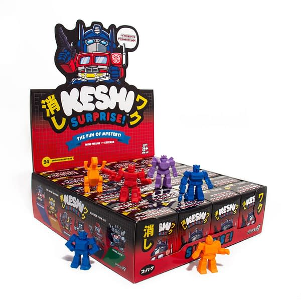 Super7 Transformers Keshi Surprise Autobots NYCC Exclusive 2