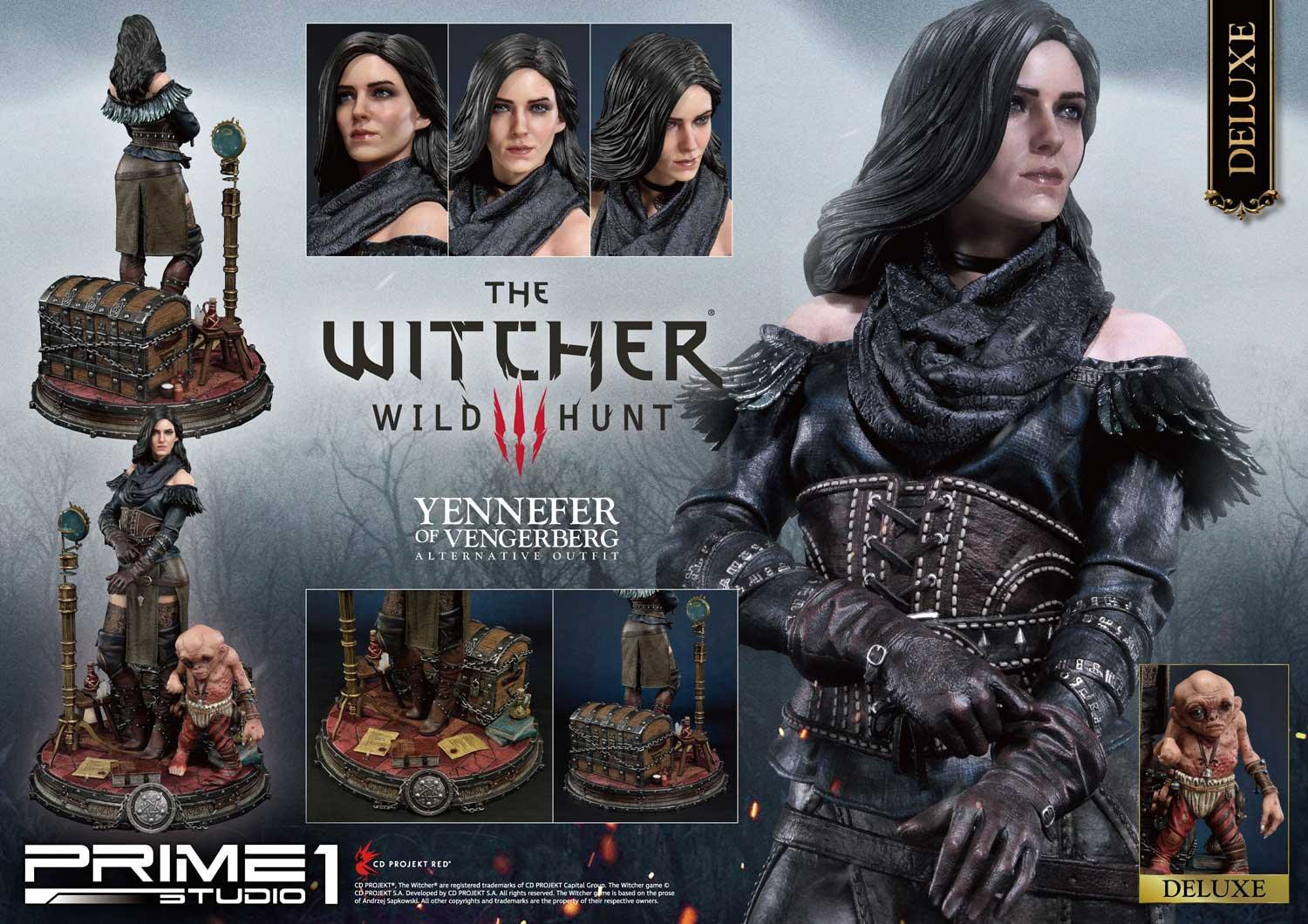 The Witcher 3 Yennefer Gets a Prime 1 Studio Statue