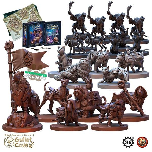 "New ""Animal Adventures"" Models, Book on Kickstarter!"