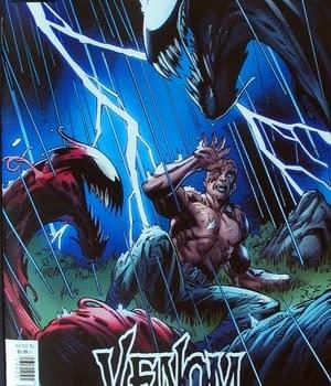 Venom #25 Mark Bagley Cover
