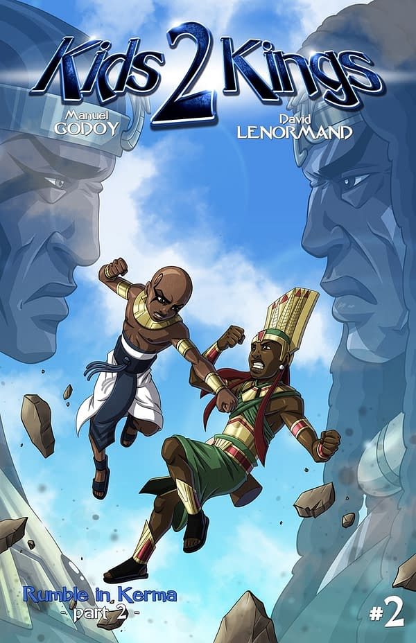 Kids 2 Kings #2 cover by David Lenormand