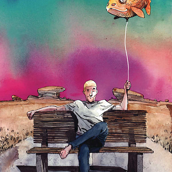 """REVIEW: King Of Nowhere #1 -- """"A Baffling Creative Experiment"""""""