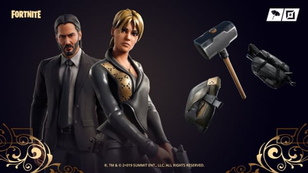 "John Wick Skins And Gear Appear In The ""Fortnite"" Shop"