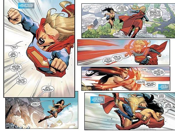 Wonder Woman #47 art by Stephen Segovia and Romulo Fajardo Jr.