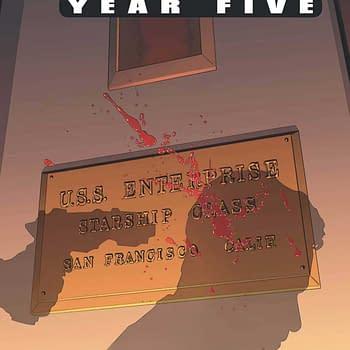 "Star Trek: Year Five #12 Review:  Warp Factor ""Holy Crap"""