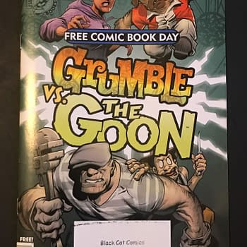 BC FCBD Roundup: Dimensions Collide with 'Grumble VS. The Goon'