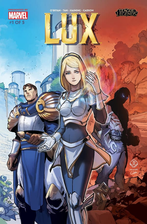 Marvel Brings 'League of Legends' to Life with 'Lux' #1
