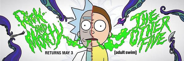 Rick et Morty retournent le 7 mai à l'E4 britannique, avec la permission d'Adult Swim.