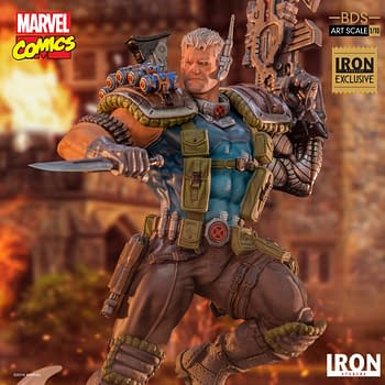 Cable Travels to 2019 with Iron Studios Exclusive Statue